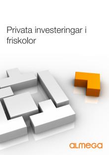 Friskolorna bidrar med miljardbelopp till den svenska skolan