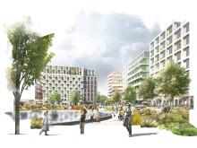White vinner bostadstävling i östra London