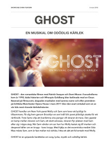 GHOST ensemble information
