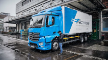 DACHSER testet schweren Elektro-LKW