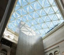 Nationalmuseum - glaskupoler med doft av artonhundratal och modern high-tech