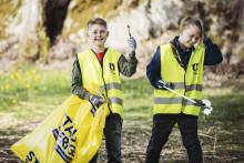 Haninge rensades på 5,7 ton miljöfarligt skräp