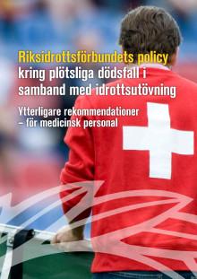 Policy för medicinsk personal kring plötsliga dödsfall inom idrotten