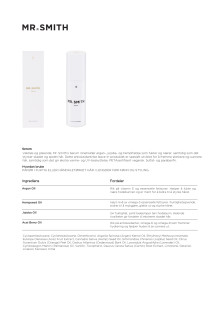 Mr Smith Produktinfo Serum