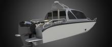 Svenska Anytec lanserar ny hyttbåt med utombordare