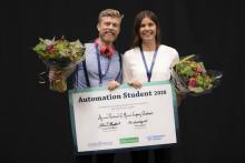 Chalmersarbete om den virtuella fabriken vinnare i Automation Student