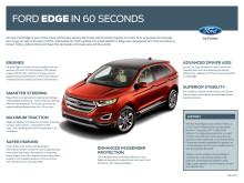 Ford Edge faktablad