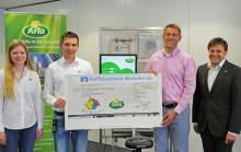 Arla Foods spendet 1.500 Euro an die Villa Kunterbunt in Trier