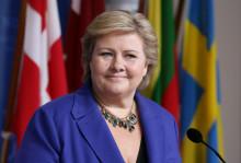 EuroPride 2014: Norwegian Prime Minister Erna Solberg opens Pride Park