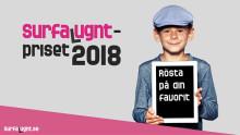 Nu kan du rösta på Surfa Lugnt-priset 2018