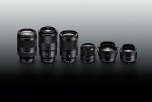 Новые полнокадровые объективы с байонетом E для Sony α и два полнокадровых конвертера