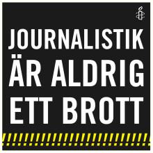 Internationella pressfrihetsdagen 3 maj - frige alla fängslade journalister