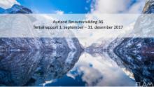 Tertialrapport 3.tertial 2017 ARU