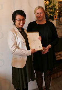MBA-student utsedd till Global Swede 2014