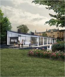 Djurgården: A new visitors center opens this summer