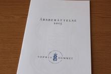 Årsberättelsen för 2015 är nu publicerad för Sophiahemmet, ideell förening