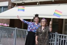 Pressinbjudan: Regnbågscafé på träffpunkt för äldre i samband med East pride