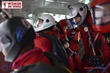 Sex svenskor tog nytt världsrekord i fallskärmshoppning