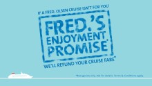 Fred. Olsen Cruise Lines is fulfilling its 'Enjoyment Promise', according to guests!