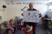 Furutoppen barnehage vant 10 000 – fikk besøk av folkekjær artist
