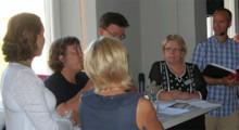 Mattias Lundberg leder Famnas seminarier i Almedalen 2012
