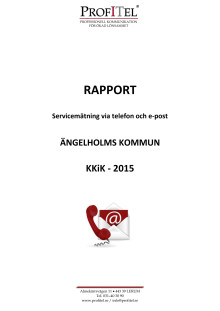 Ängelholms kommuns rapport