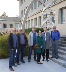 Würdigung für Forschungsarbeit in der Bioelektrochemie – Prof. Dr. Fred Lisdat auf Lecture Tour in Tschechien und der Slovakei