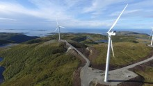TrønderEnergi overtar driften av Roan vindpark i 2021