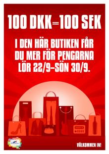 Stena Line sänker den danska kronans växelkurs till 1992 års nivå