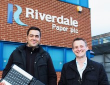 Glowled wins £35,000 lighting contract with Riverdale Paper