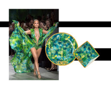 From the runway to finest porcelain: Versace Jungle