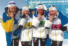 Svenska junior VM-stjärnor till Borås och Junior-SM i längdskidåkning