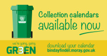 New bin collection calendars available to download