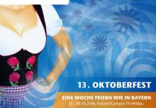 Abschluss des Jubiläumsjahres der Technischen Hochschule Wildau mit dem 13. Wildauer Oktoberfest