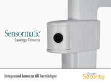 Integrerad kamera till larmbågar