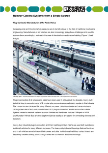 Railway Cabling Systems from a Single Source