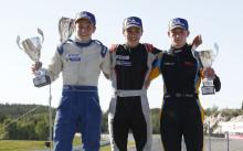 Dubbelt Norge i Formula STCC Nordic på Rudskogen