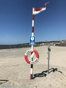 Ökad säkerhet vid Helsingborgs badplatser i sommar