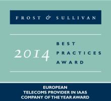 Frost & Sullivan udnævner Interoute til årets IaaS teleudbyder