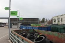 Välkommen med dina gamla däck till återvinningen i Hofors