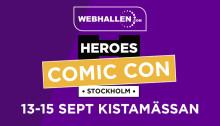 Webhallen är på Comic Con 2019
