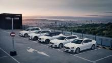 Stark efterfrågan på Volvo Cars elhybrider