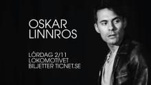 Oskar Linnros till Eskilstuna lördag 2 november