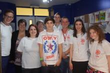 Teen singing sensation Ollie Garland visits Radio Lollipop at Birmingham Children's Hospital