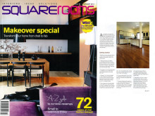 Evorich Featured on Square Rooms Magazine Feb 2012 Issue ~ On Kitchen Flooring