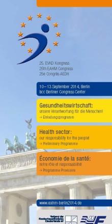 25. Kongress der Europäischen Vereinigung der Krankenhausdirektoren in Berlin