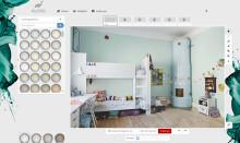 Färgsätt hemmet direkt i datorn med Alcro Design