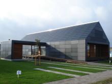 Fremtidens vedligeholdelsesfrie hus står færdigt