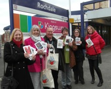 Library staff booked up on World Book Night