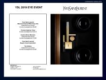 Lehdistötiedote Yves Saint Laurent Sequin Crush luomiväri